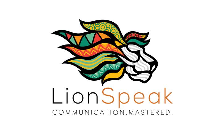 lion speak logo
