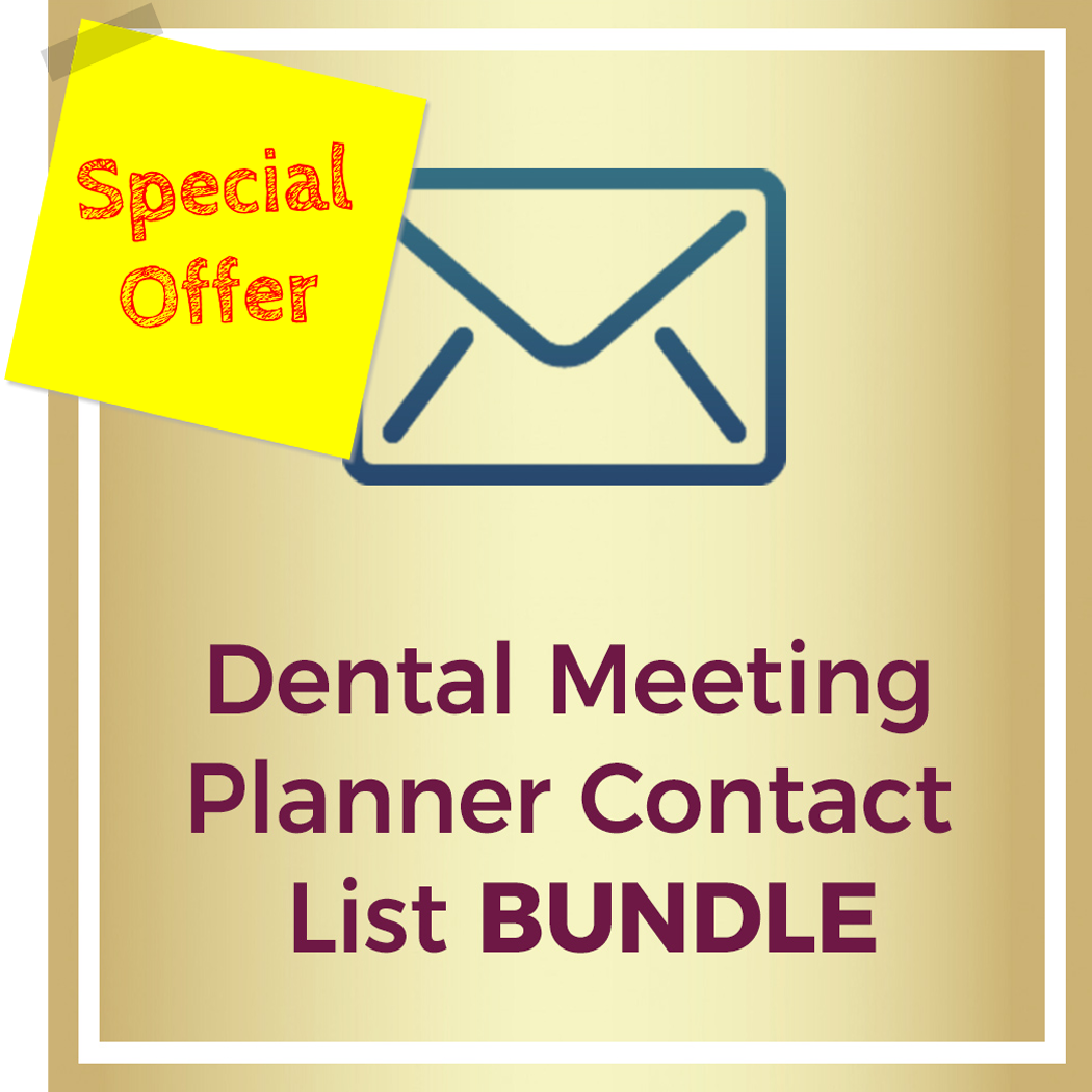 dental meeting planner contact lists