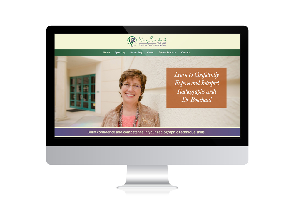 nancy-bouchard-website-design-by-The-Dental-SPeaker