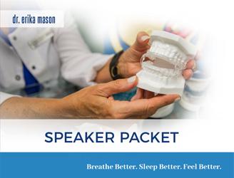 Mason-dental-speaker-packet