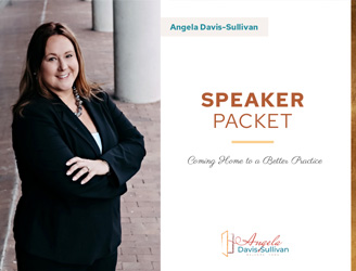 Angela Davis Sullivan dental-speaker-packet